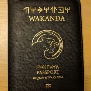 Handbags - Wakanda Passport cover